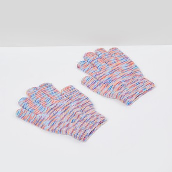 MAX Yarn-Dyed Flat-Knit Gloves