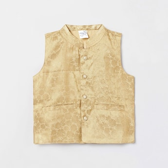 MAX Jacquard Patterned Nehru Jacket