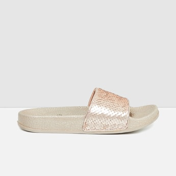 MAX Sequinned Textured Sliders