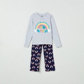 MAX Printed T-shirt and Pants