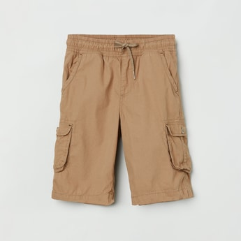 MAX Solid Elasticated Bermuda Shorts