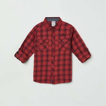 MAX Checked Full Sleeves Casual Shirt