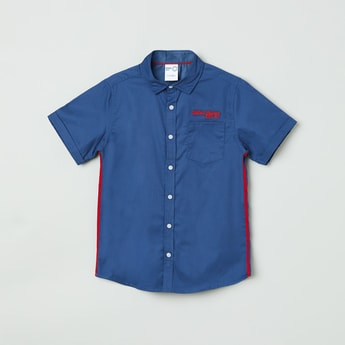 MAX Solid Half-Sleeves Shirt