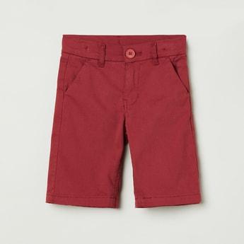 MAX Solid Bermuda Shorts
