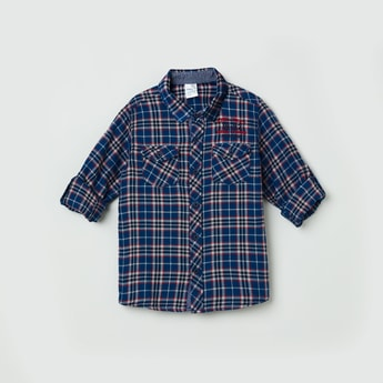 MAX Checked Full-Sleeves Shirt