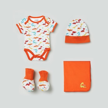 MAX Printed Infant Gift Set - Pack of 4