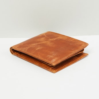 MAX Genuine Leather Textured Wallet