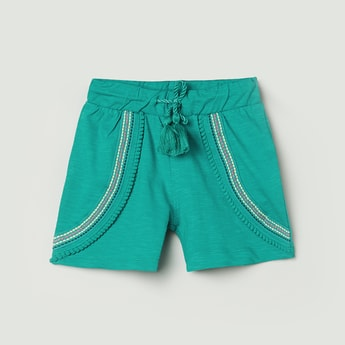 MAX Embroidered Elasticated Shorts