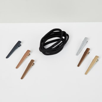 MAX Solid Rubber Bands and Clips Set