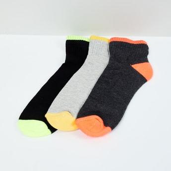 MAX Colourblock Socks- Pack of 3 Pcs.