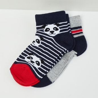 MAX Printed Socks- Pack of 2