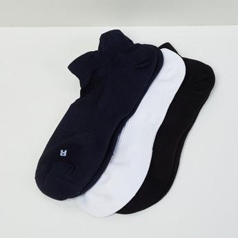 MAX Solid Anklet Sports Socks- Set of 3