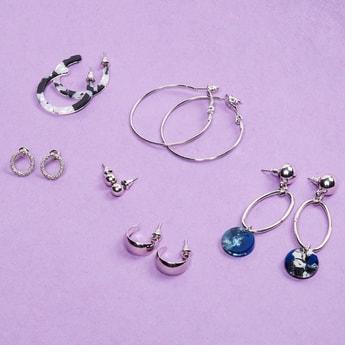 MAX Solid Earrings- Pack of 6