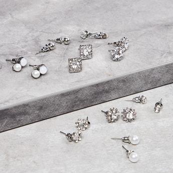 MAX Embellished Earrings- Set of 9