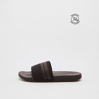 Solid Slip-On Beach Slippers