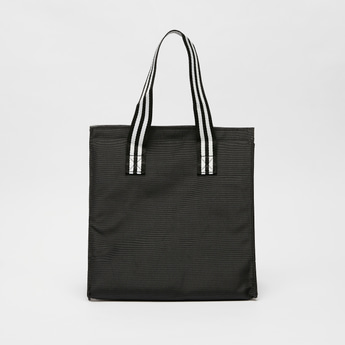 Solid Lunch Bag with Double Handles