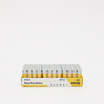 Heavy Duty AA 60-Piece Battery Pack