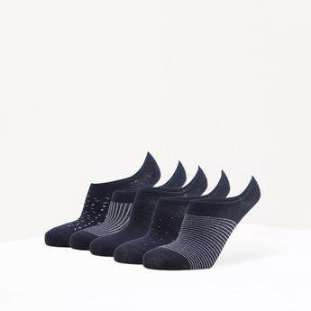 جوارب غير مرئية متنوعة - طقم من 5 أزواج