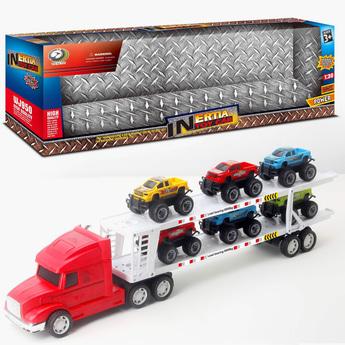 Inertia Toy Car Set