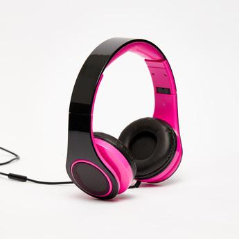 Padded Plastic Headphones