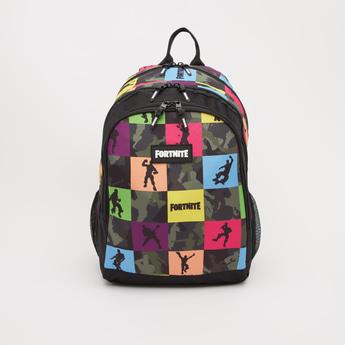 Fortnite Print Backpack with Adjustable Shoulder Straps - 18 Inches