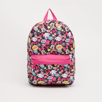 Minnie Mouse Print Backpack - 16 Inches