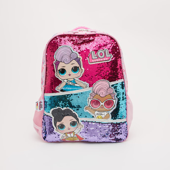 L.O.L. Surprise! Embellished Backpack with Adjustable Straps - 16 Inches