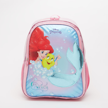 Princess Print Backpack with Adjustable Shoulder Straps - 16 Inches