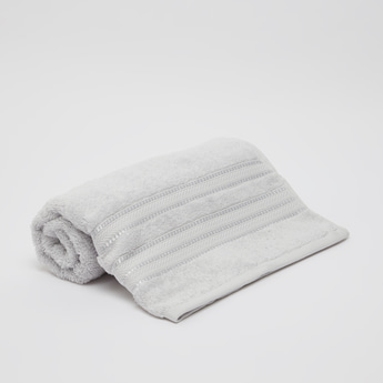 Textured Egyptian Cotton Bath Sheet - 150x90 cms