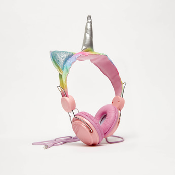 Unicorn On-Ear Headphones with USB Cord