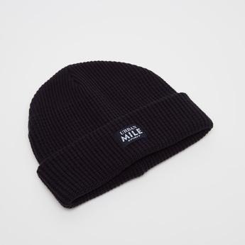 Textured Beanie Cap