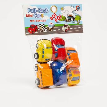 Pull-Back Mini Cars Toy Set