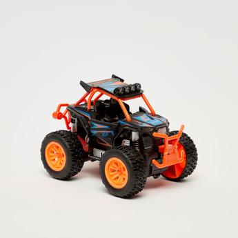 Big Wheels World Die-Cast Friction Car Toy