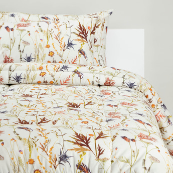 Printed 2-Piece Single Size Comforter Set - 220x160 cms