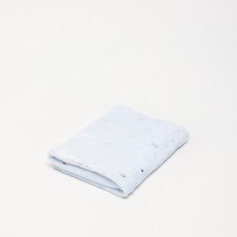 بطانية مستطيلة بارزة الملمس - 100x75  سم