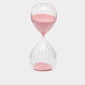 Decorative Textured Hourglass