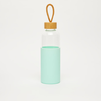 Water Bottle with Contrast Cap