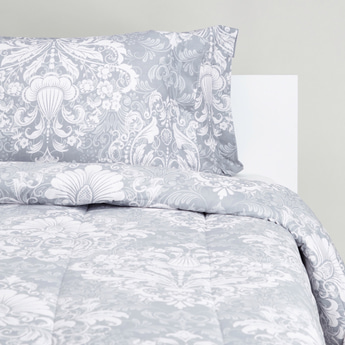 Printed King Comforter with Pillow Covers - 230x220 cms