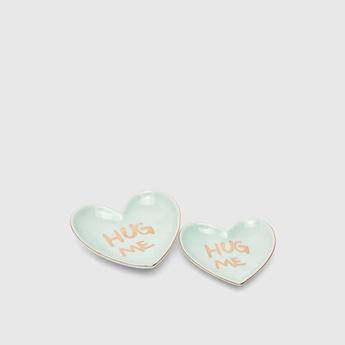 Set of 2 - Hug Me Ceramic Jewellery Plate