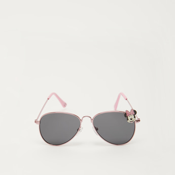 Full Rim Metal Sunglasses with Minnie Mouse Accent