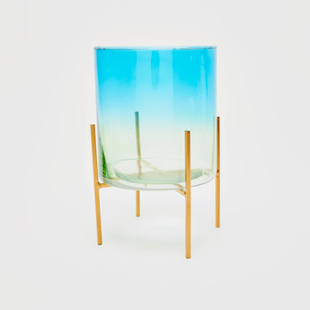 Ombre Dyed Planter with Stand