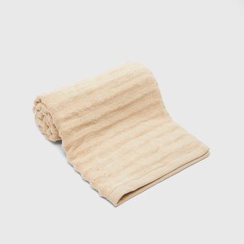 Textured Rectangular Hand Towel - 80x50 cms