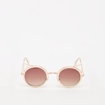 Full Rim Cat-Eye Sunglasses with Nose Pads