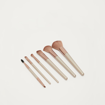 Pack of 6 - Beauty Tools Face Essential Brush Set