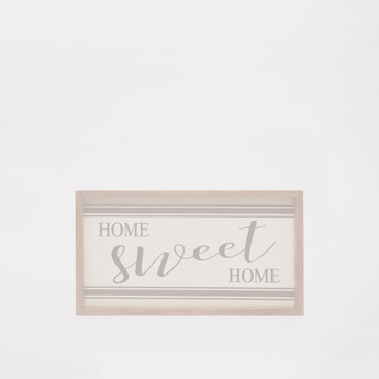 Home Sweet Home Word Decor
