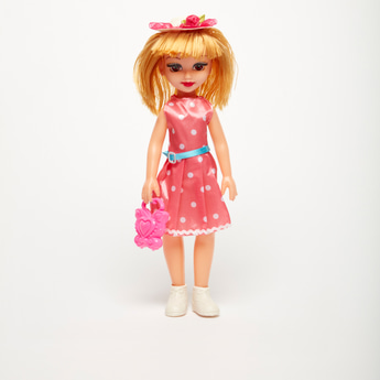 Happy Girl Doll with Accessories