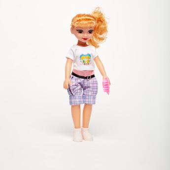 Beautiful Girl Doll with Brush