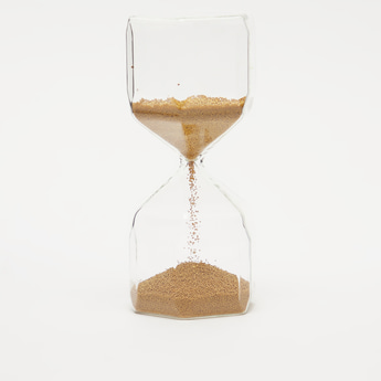 Sand Clock Decor Piece