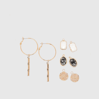 Set of 5 - Assorted Earrings