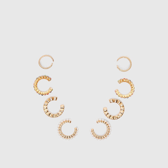 Set of 4 - Embellished Earrings
